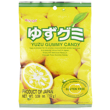 Kasugai Gummy Candy Yuzu Flavor