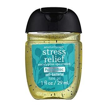 Bath & Body Works® PocketBac Stress Relief Eucalyptus Spearmint Anti-Bacterial Hand Gel