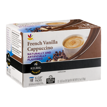 Ahold French Vanilla Cappuccino K-Cup Packs - 12 CT