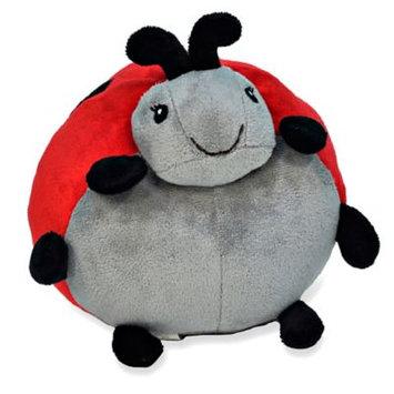 Cloud B Large Pouf - 12-inch - Twilight Ladybug