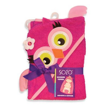 Sozo Owl Hooded Towel