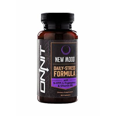 New Mood Anti-Stress & Serotonin with 5 HTP, 30 Capsules
