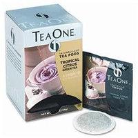 Five Star Distributors, Inc. Java One Tea Single Cup Tropical Citrus Green Pods