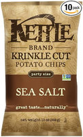 Kettle Brand Krinkle Cut Sea Salt Potato Chips