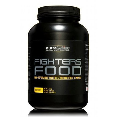 Nutrabolics Fighters Food, Chocolate, 2.54-Pound