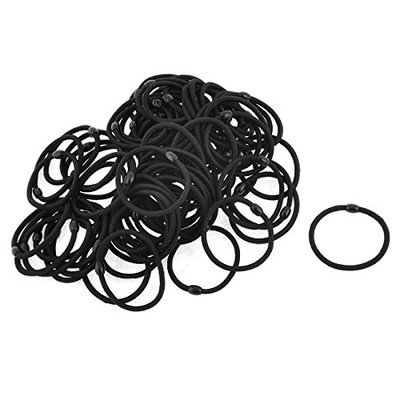 Uxcell 70 Piece Women Elastic Ponytail Holder Hair Bands Rings