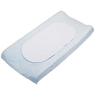 Boppy Changing Pad Cover with Waterproof Liner, Blue