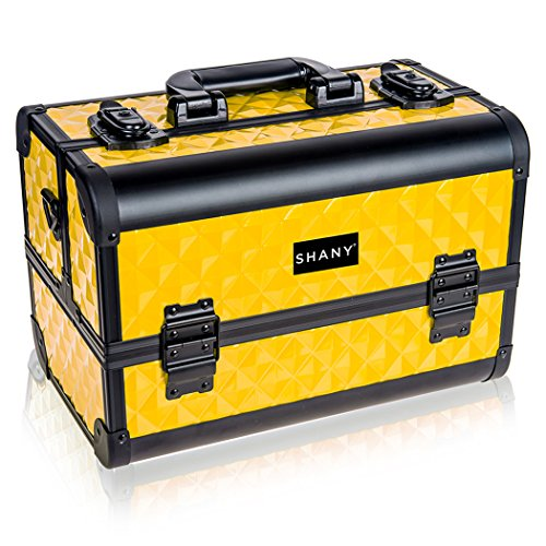 SHANY Premier Fantasy Collection Makeup Artists Cosmetics Train Case - NY Taxi