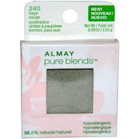 Almay Pure Blends Eyeshadow, Sage, 0.09-Ounces (Pack of 1)