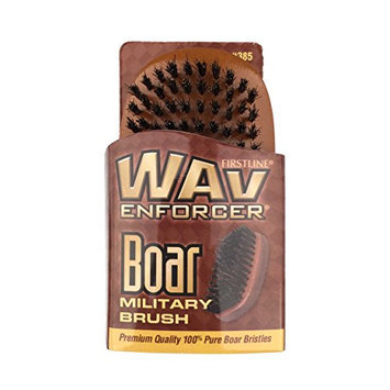 Wav Enforcer Premium Quality Boar Military Brush