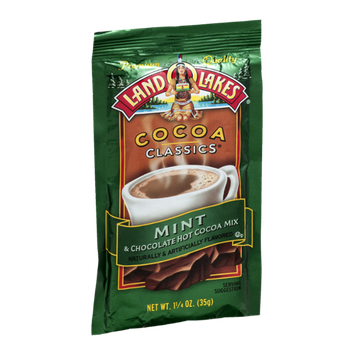Land O'Lakes Cocoa Classics Hot Cocoa Mix Mint & Chocolate