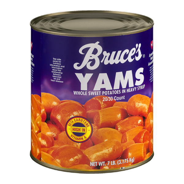 Bruce's Yams Whole Sweet Potatoes In Heavy Syrup