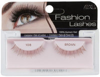 Ardell Fashion Lashes Pair - 108 Brown (Pack of 4)