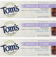 Tom's of Maine Natural Whole Care Toothpaste with Fluoride