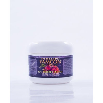 Phillips Naturals Yamcon Natural Bioidentical Progesterone Cream Extra Strength 6 Pack.