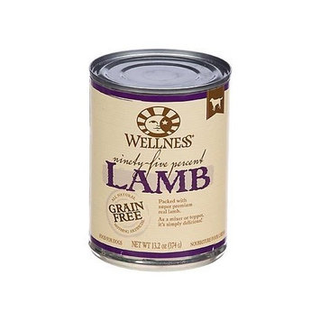Wellness 95% Lamb Adult Canned Dog Food