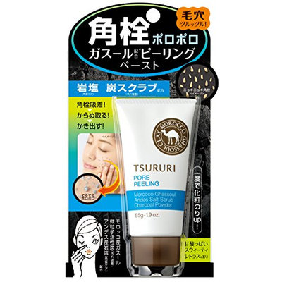 BCL Tsururi Black Head Peeling Ghassoul