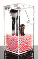 PuTwo PuTwo IT-IG3V-JV0M Make Up Brush Holder Dustproof Storage Box