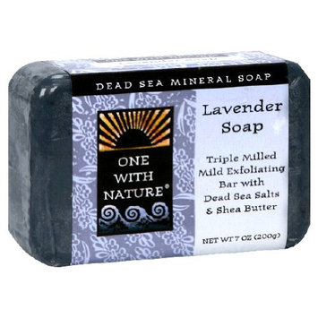 One With Nature Dead Sea Mineral Soap Lavender