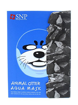 SNP Otter Aqua Character Printed Mask (Pack Of 10)