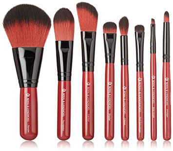 Royal & Langnickel Guilty Pleasures Lust Travel Cosmetic Brush Kit
