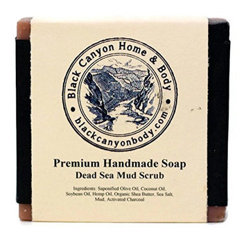 Black Canyon Home and Body Hand Crafted Bar Soap(Dead Sea Mud Scrub)