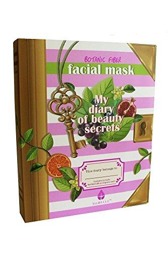 Biobelle My Diary of Beauty 6 pcs sheet mask set