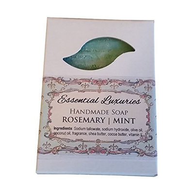 Rosemary   Mint Soap - Exfoliating - Poppy Seed
