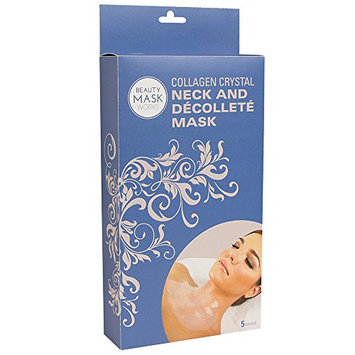 Beauty Mask Works Collagen Crystal Neck and Decollete Mask