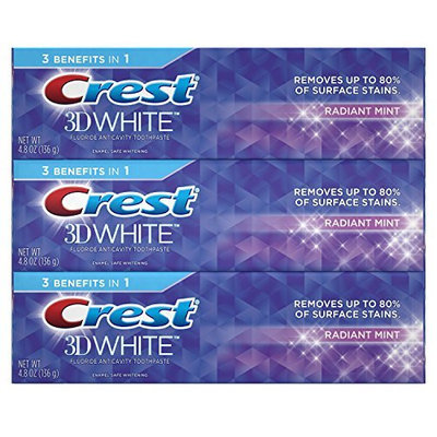 Crest 3D White Radiant Whitening Toothpaste