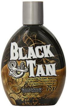 Millenium Tanning Black and Tan 75X Bronzer Indoor Dark Tanning Lotion