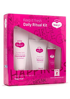 True Girl Skin Care Daily Ritual Teen Cleansing Moisturizer and Zit Zapper Kit