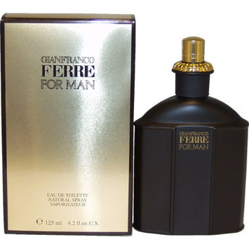 Ferre By Gianfranco Ferre For Men. Eau De Toilette Spray 4.2 Ounces