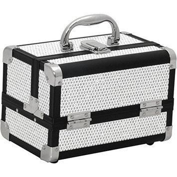 JustCase M1001 Mini Makeup Cosmetic Train Case Organizer Storage
