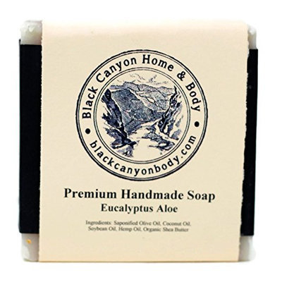 Black Canyon Home and Body Hand Crafted Bar Soap(Eucalyptus Aloe Scent)