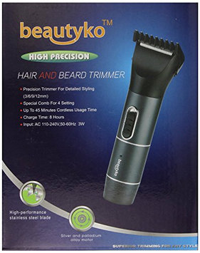 Beautyko USA BEAYG-BK0999 Precision Dual Function Hair and Beard Trimmer