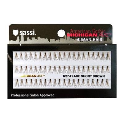Sassi 804-M27 Michigan Ave 100% Human Hair Flare Short Eyelashes