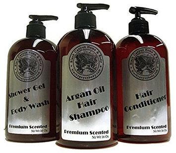 Black Canyon Shower Set Argan Oil Shampoo