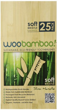 Woobamboo Slim Soft Eco Toothbrush (Pack of 25)