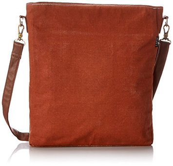 Maika Cosmetic Sling Crossbody Bag Waxed Camel