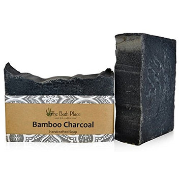 Activated Bamboo Charcoal Handcrafted Soap