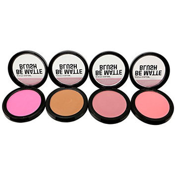 4pc City Color Be Matte Blush set of 4 color #C0003