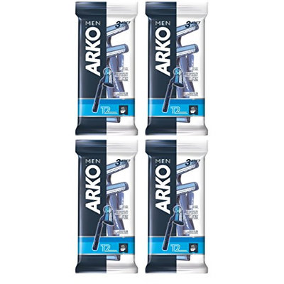 Arko Men T2 Twin Blade Disposable Shaving Razor
