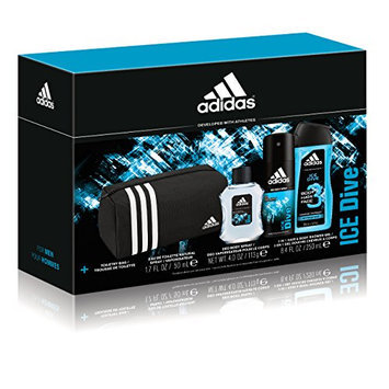 Adidas Personal Care Ice Dive Doppler Kit Personal Care 3 Piece Gift Set
