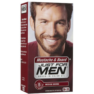 Just for Men Brush-In Mustache