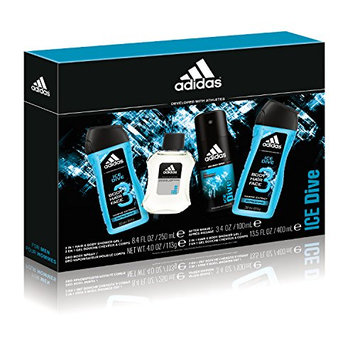 Adidas Personal Care Ice Dive Personal Care 4 Piece Gift Set