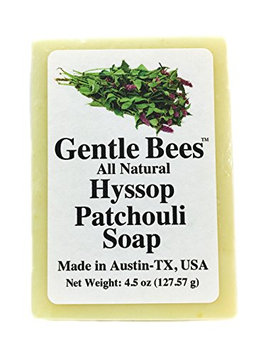 Gentle Bees Hyssop Patchouli Soap