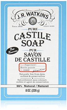 J.R. Watkins Pure Castile Bar Soap