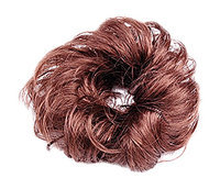 Uxcell Ladies Synthetic Hair/Wave Curly Hairpiece/Bun/Wig