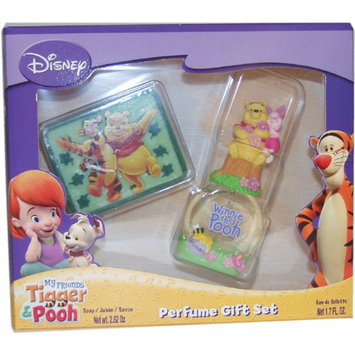 Tigger and Pooh Kids Eau-de-toilette Spray and Soap (Melon Fragrance) by Disney
